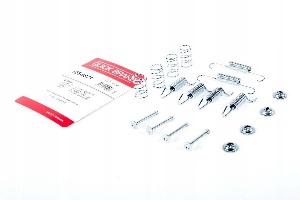 Zestaw montażowy szczęk Subaru Impreza 94-07 R160 OEM 105-0871