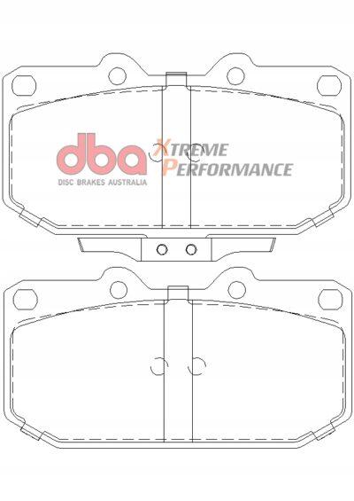 Klocki hamulcowe przednie DBA XP Impreza WRX 01-07 OEM DB1170XP