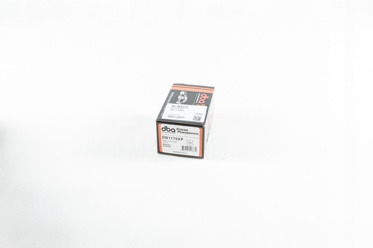 Klocki hamulcowe przednie DBA Impreza GT99 WRX -07 OEM DB1170XP