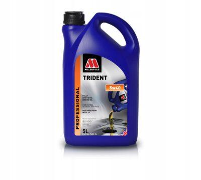 Olej silnikowy 5W40 Millers Trident 5L OEM 7625-5L