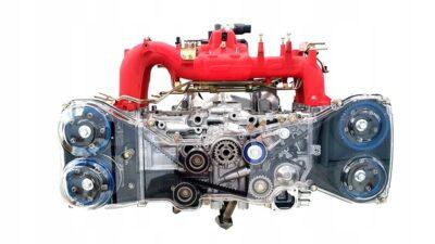 Obudowy paska rozrządu Subaru Impreza WRX/STi 08+ OEM ZESSTI08