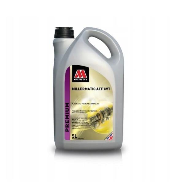 Olej przekładniowy Millers MILLERMATIC ATF CVT 5L OEM 7767-5L