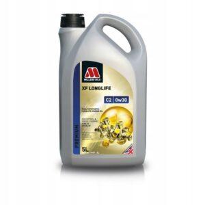 Olej silnikowy Millers XF LONGLIFE C2 0w30 5L OEM 7997-5L