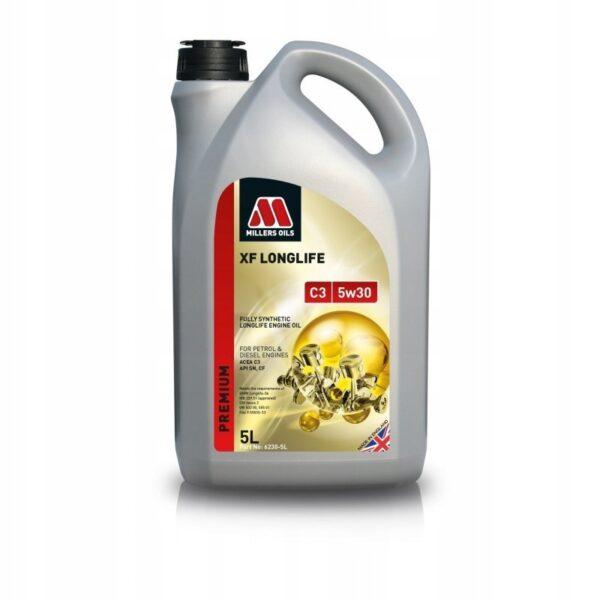 Olej silnikowy Millers XF LONGLIFE C3 5w30 5L OEM 6230-5L