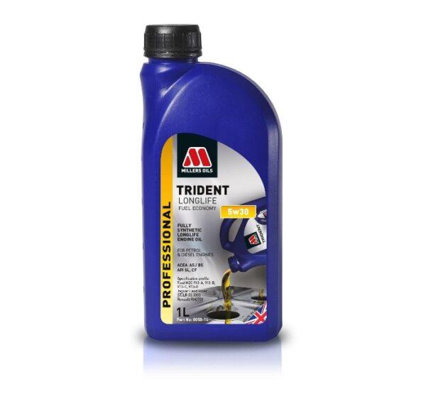 Olej silnikowy TRIDENT LONGLIFE FUEL ECONOMY 5w30 OEM 8058-1L