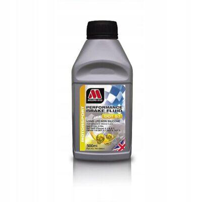 Płyn hamulcowy Millers Brake Fluid Dot 5.1 0