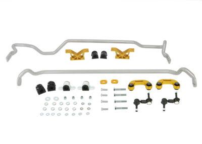 Zestaw stabilizatorów regulowanych 24mm Whiteline Subaru Impreza STi 02-03