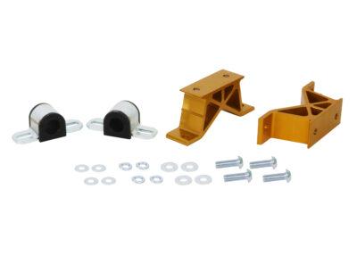 Mocowania stabilizatora tylnego Whiteline wzmocnione Impreza 93-07 Legacy 89-98 27mm