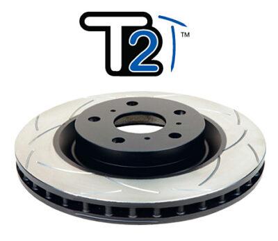 Tarcza hamulcowa DBA tylna nacinana Impreza STI Type R / szutrowa STI N10 i N11
