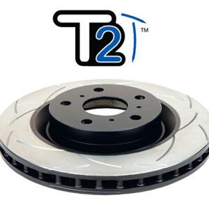 Tarcza hamulcowa DBA tylna 259mm nacinana T2 Subaru Trezia 1.3 12-