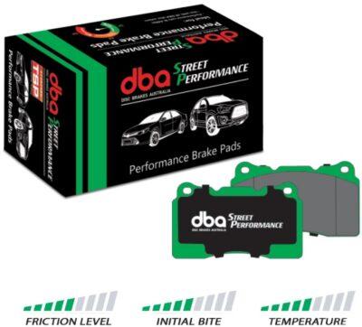 DB1672SP Klocki hamulcowe tylne DBA Street Performance Forester 03-07 Impreza Wolnossąca 01-07