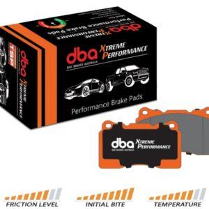 dba-xtreme-performance-pads Klocki hamulcowe tylne DBA Xtreme Performance Forester 03-07 Impreza Wolnossąca 01-07